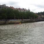 Tres participantes en el Triatlón de Bilbao con leptospirosis