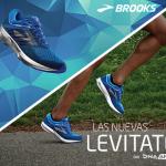 Brooks lanza las nuevas Levitate con DNA AMP